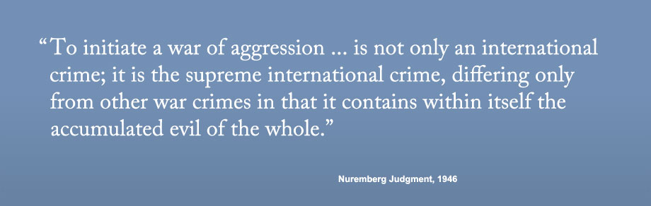 our purpose promoting peace through criminal justice preventing crimes of aggression